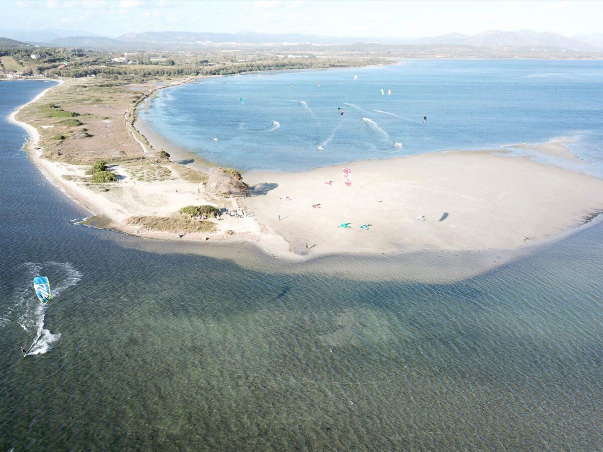 Punta Trettu, der beste Kite-Spot Sardiniens