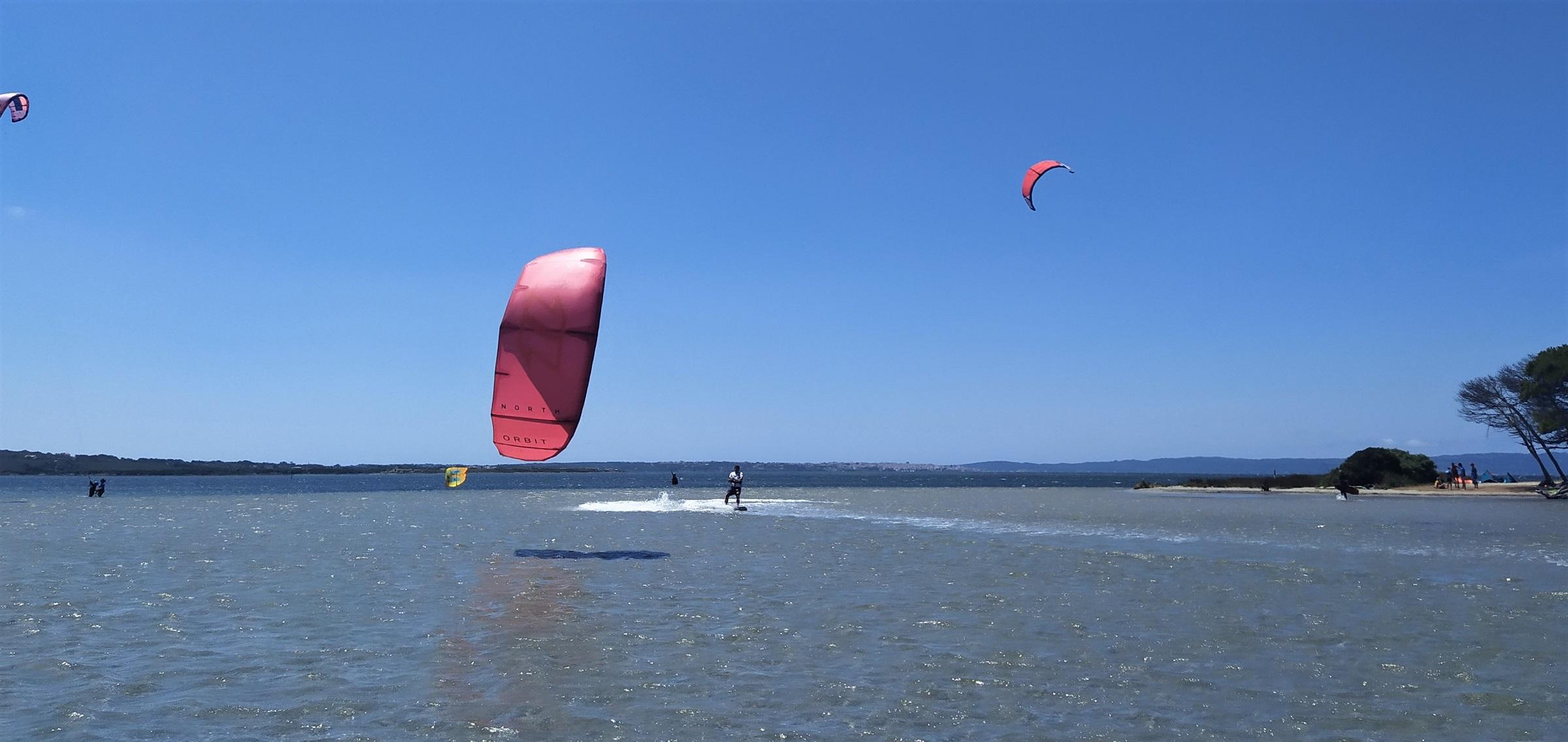 Der Kite Spot von Punta Trettu auf Sardinien