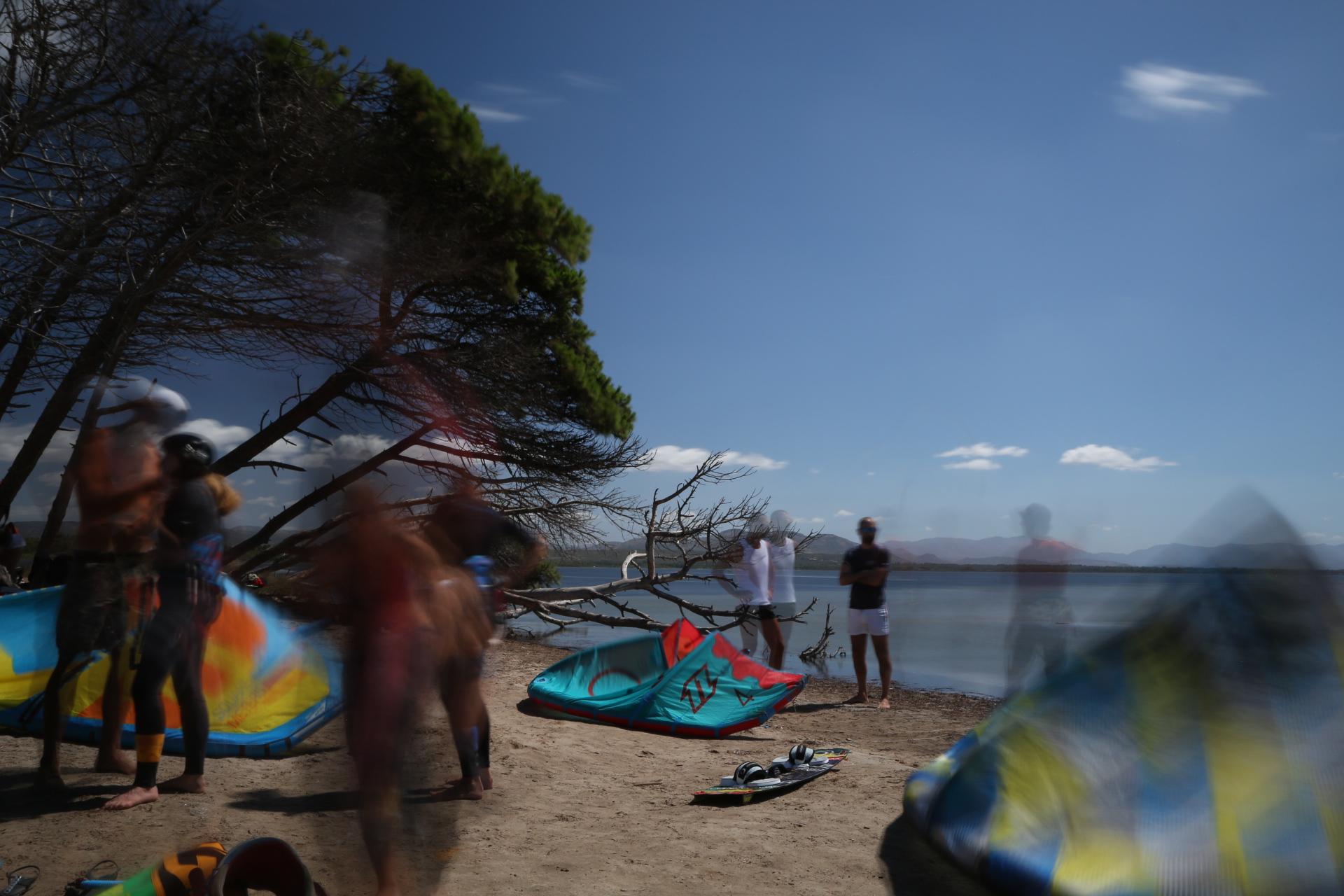 Meteo e Vento a Punta Trettu in Sardegna, il paradiso del kitesurf
