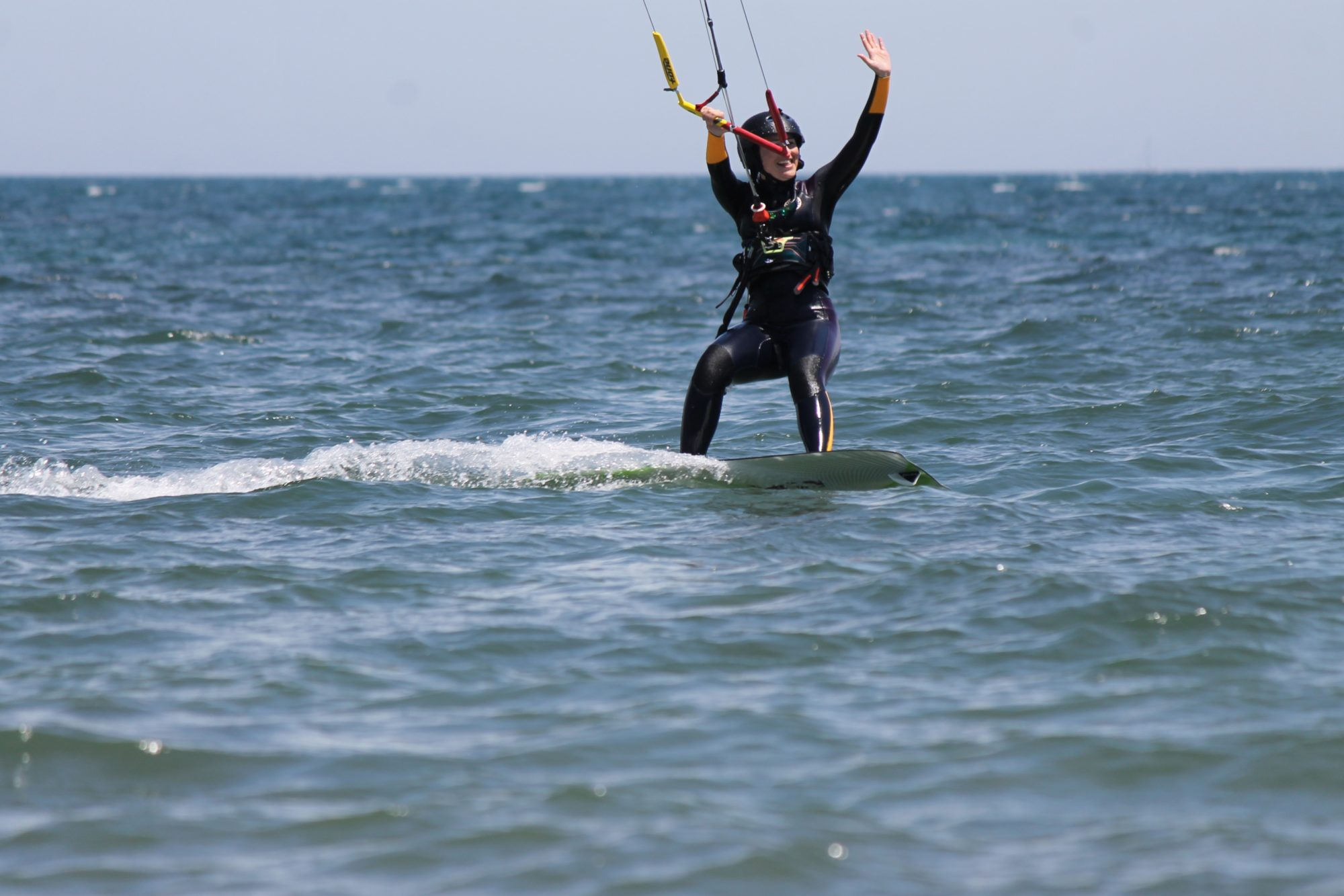 Imparare il kitesurf in Sardegna