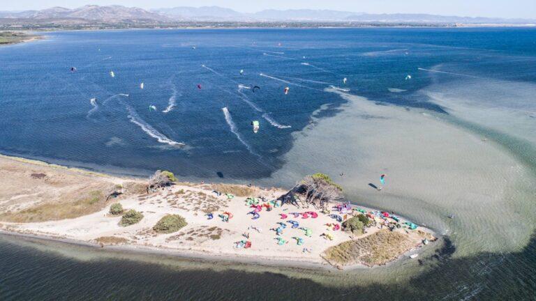 La spiaggia di Punta Trettu