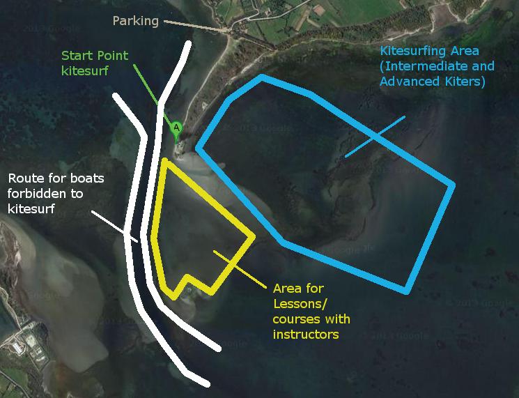Kite Zone di Punta Trettu Sardegna