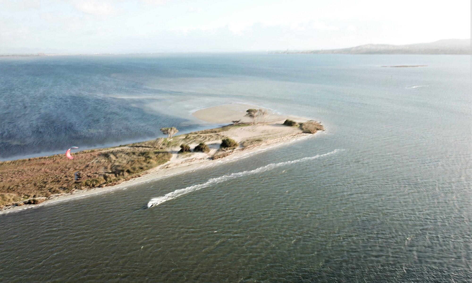Punta Trettu Kite Spot iN sardegna