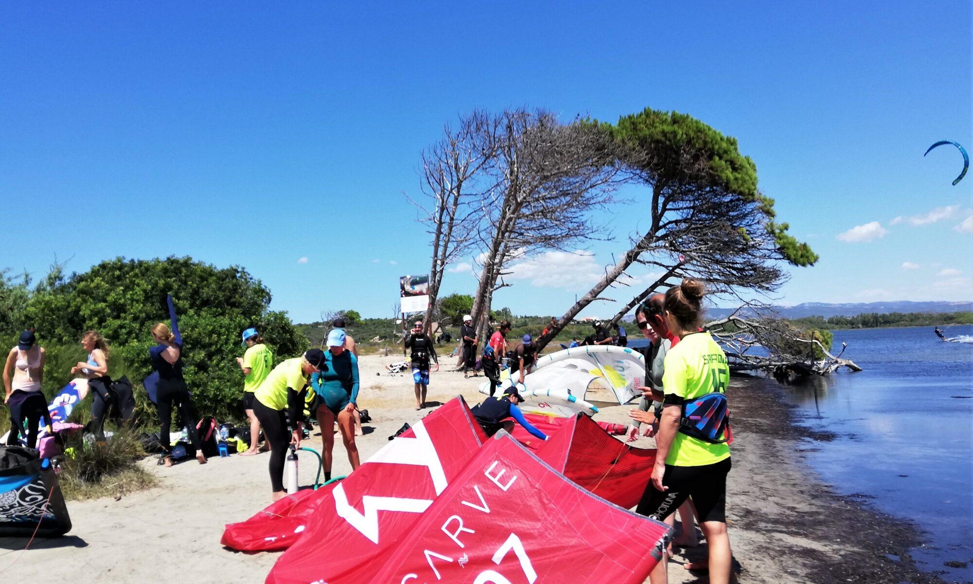 Kite Camp Sardegna a Punta Trettu
