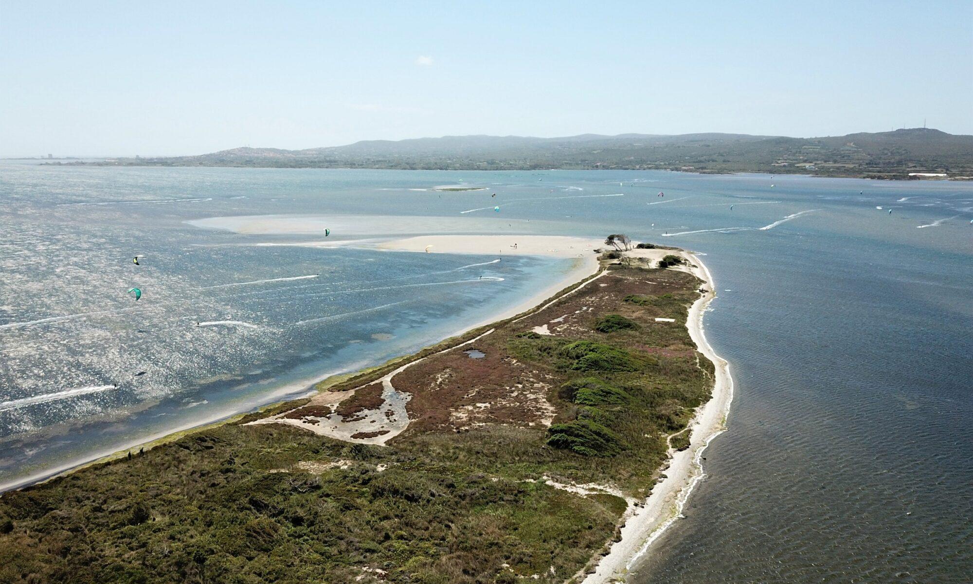 Kite Punta Trettu Sardegna, il famoso kite spot in Sardegna urope