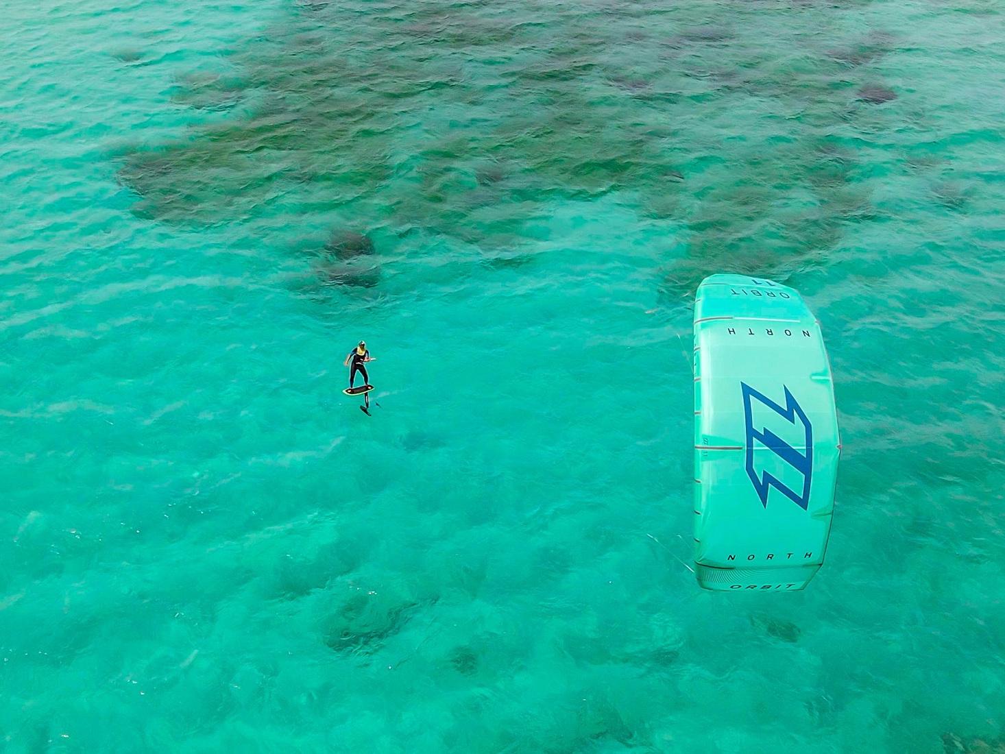 Kite Foil a Punta Trettu in Sardegna