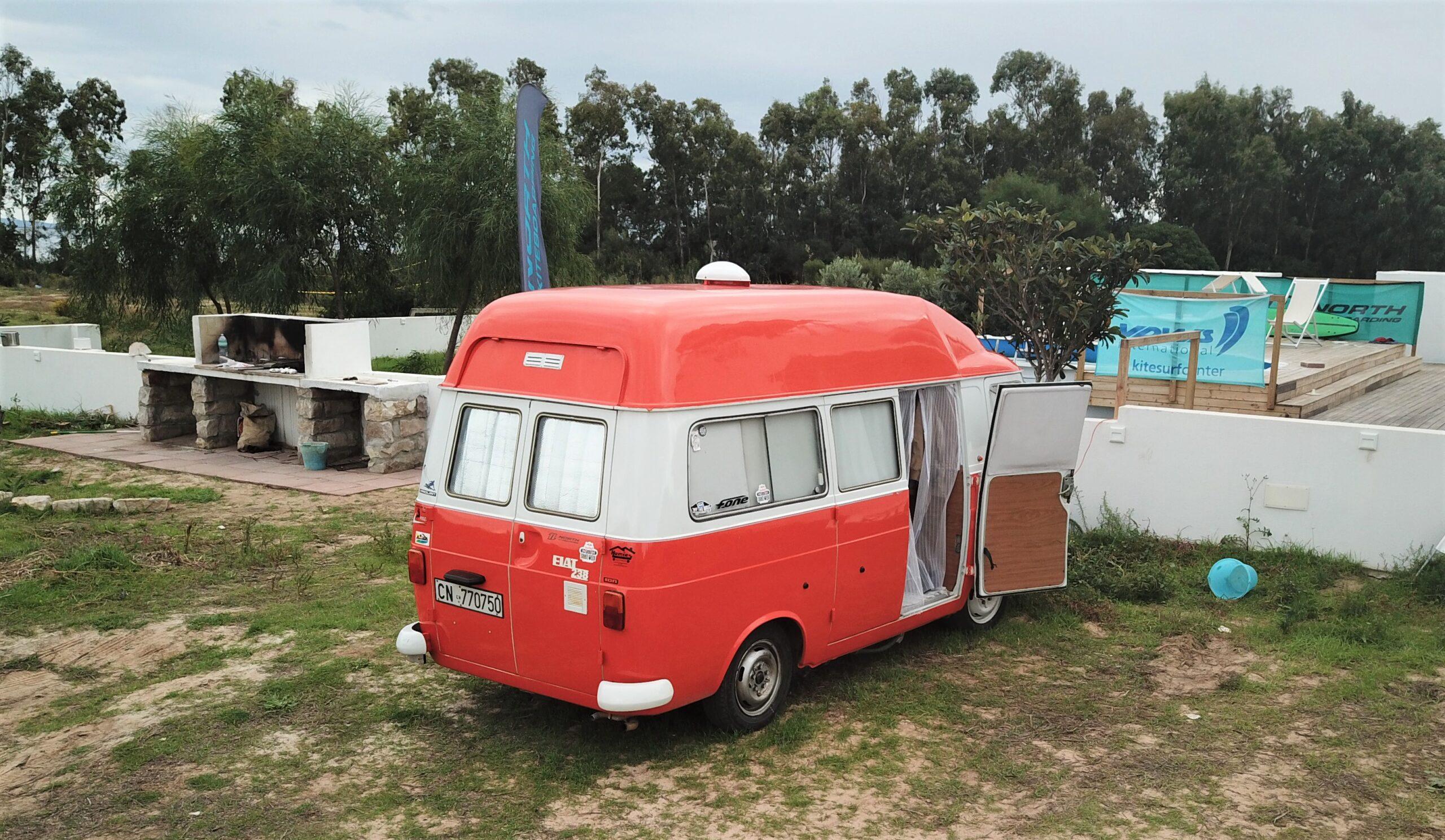 Campeggio per camper e van a Punta Trettu