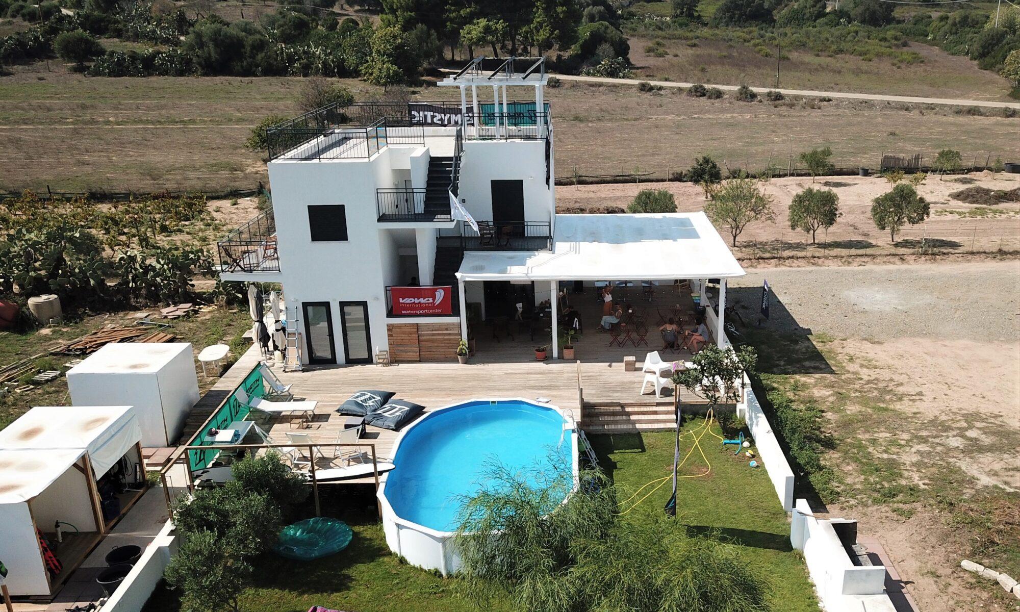 il Punta TrettuKite Center e Kitesurf House a Punta Trettu in Sardegna