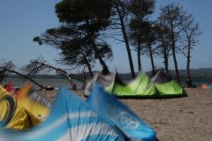 Kitesurfing Punta Trettu, Sardinia