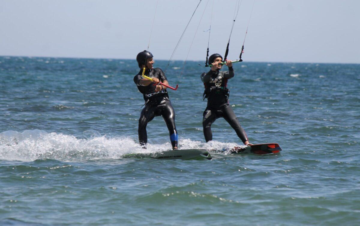 Intermediate Advanced Kitesurfing Lessons in Punta Trettu, Sardinia