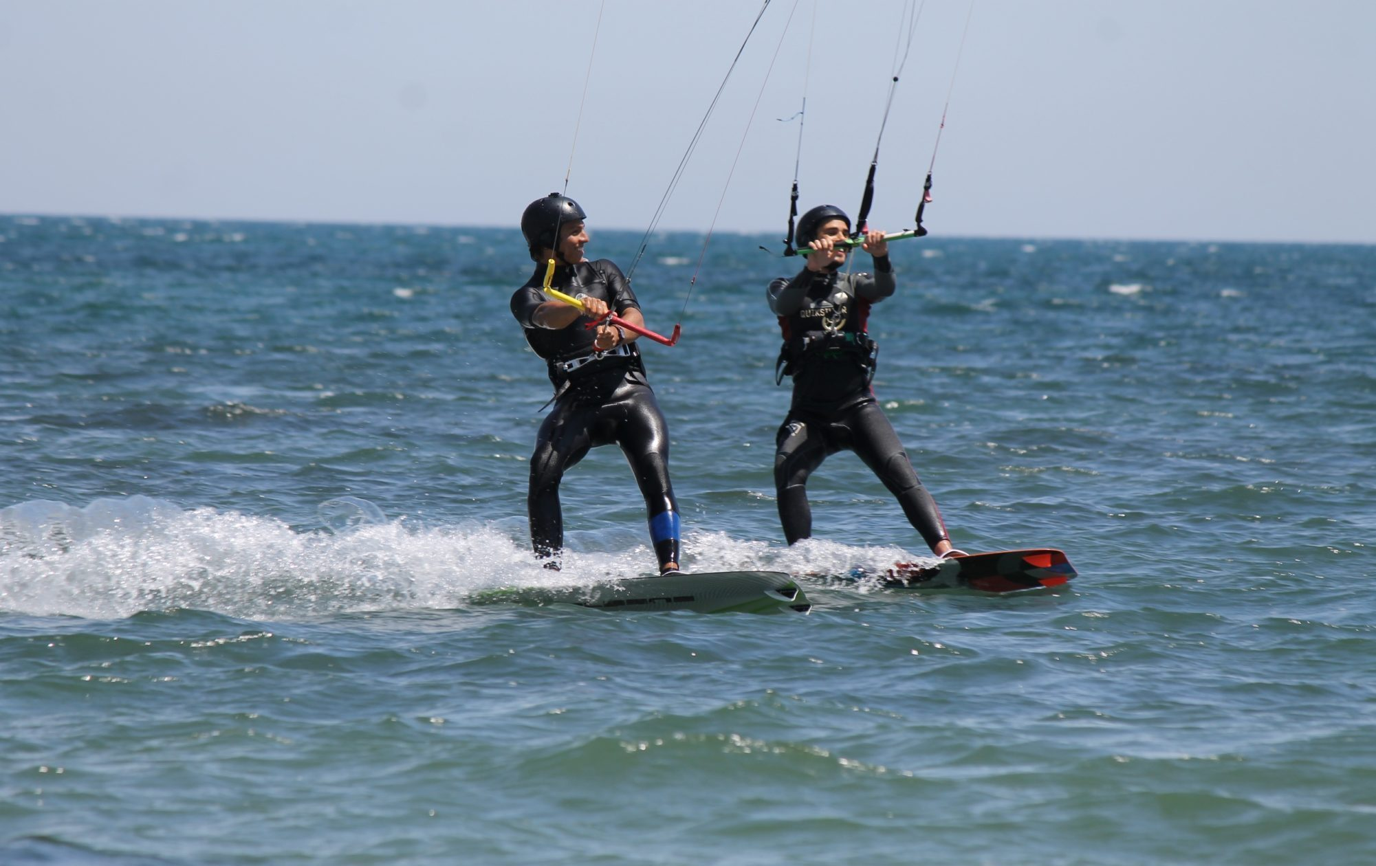 Intermediate Advanced Kitesurfing Lessons in Punta Trettu, Sardinia