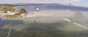 Kitesurf Beach Punta Trettu Sardinia Kitesurfing Flat Water