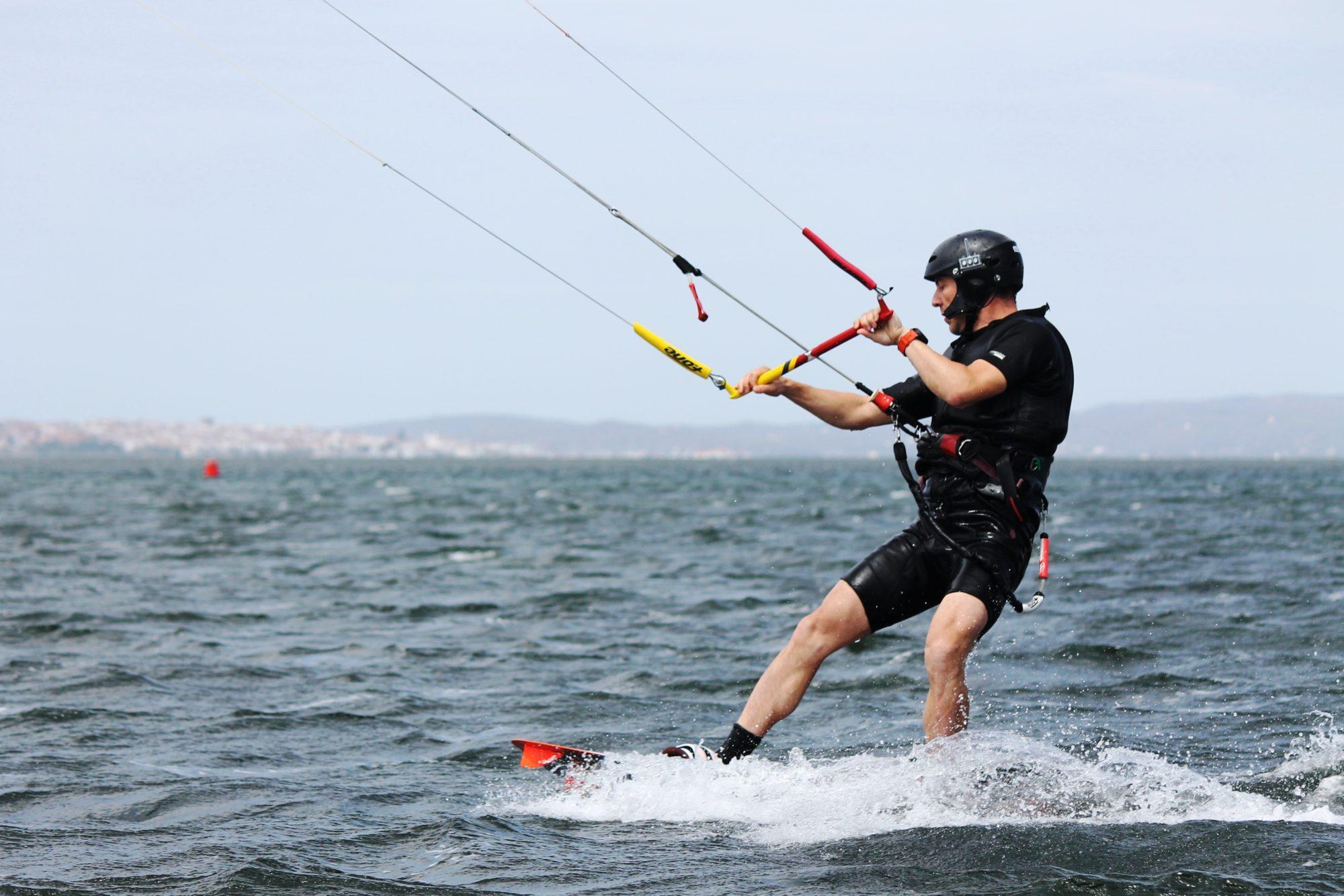 Punta Trettu in Sardinia: Perfect kite beach for learning how to kitesurf! Learn Kitesurfing in Punta Trettu