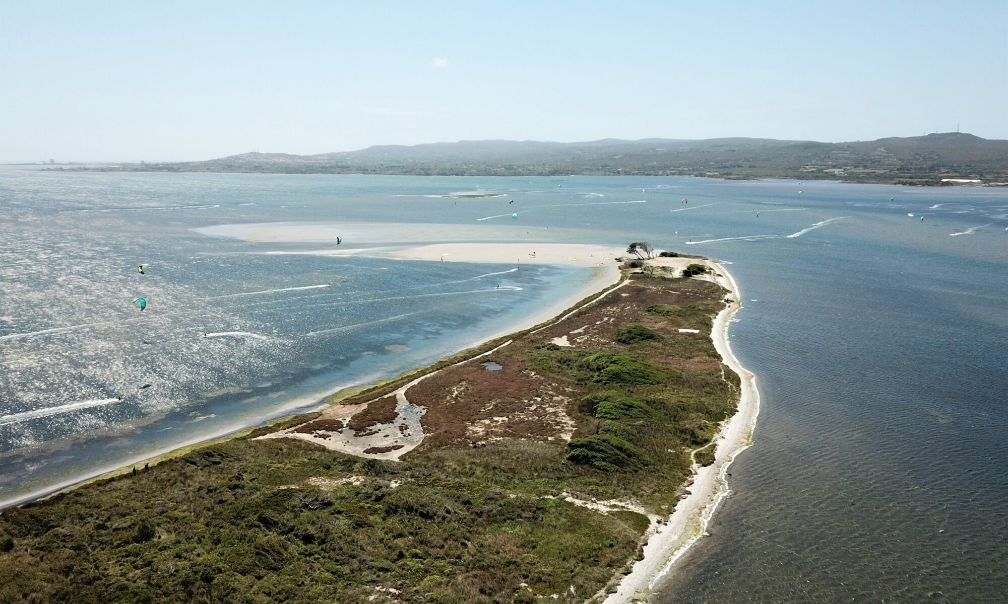 Punta Trettu Kitesurf Sardinia, the Best Kite Spot in Europe