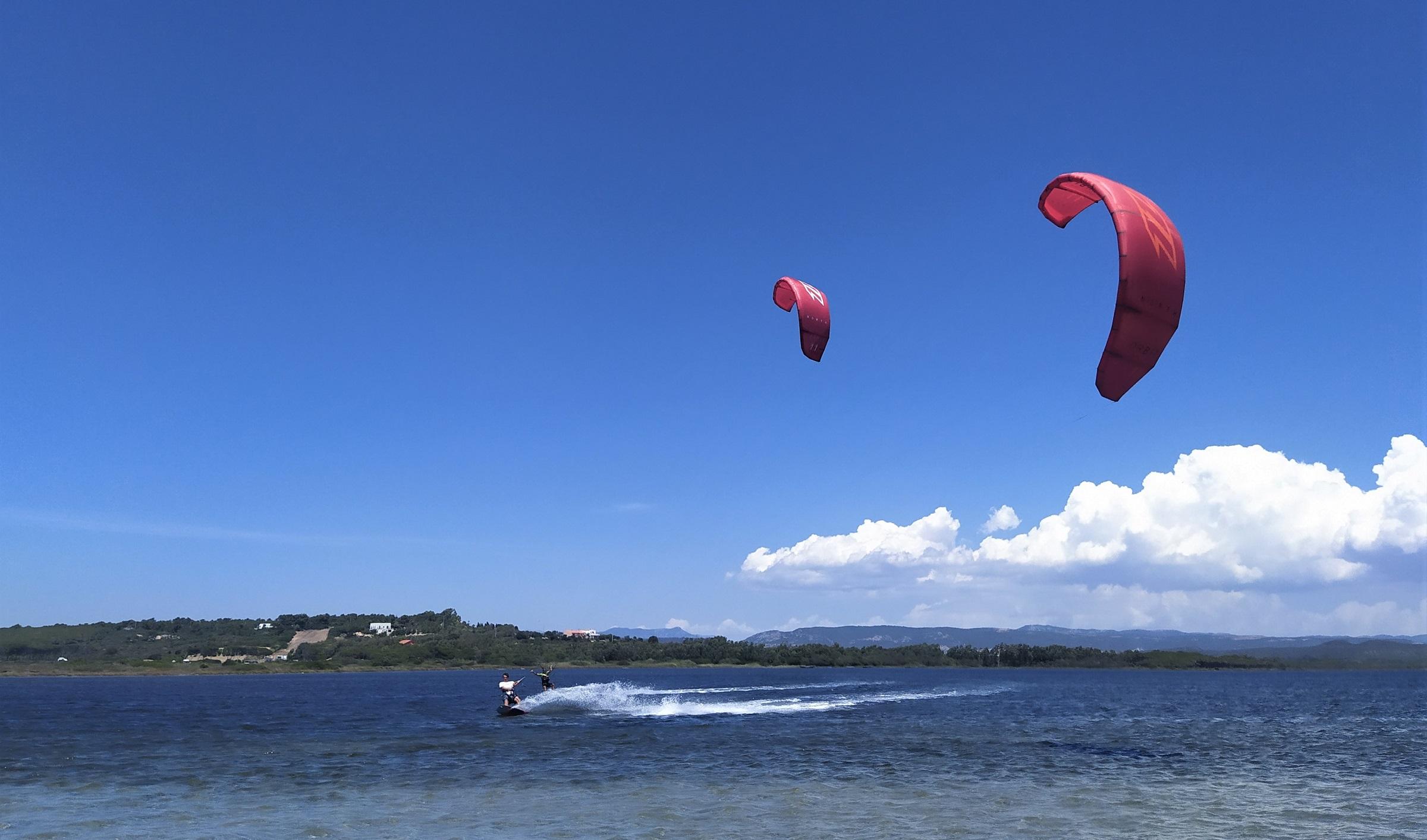 Punta Trettu, the Paradise of Kitesurfing in Sardinia