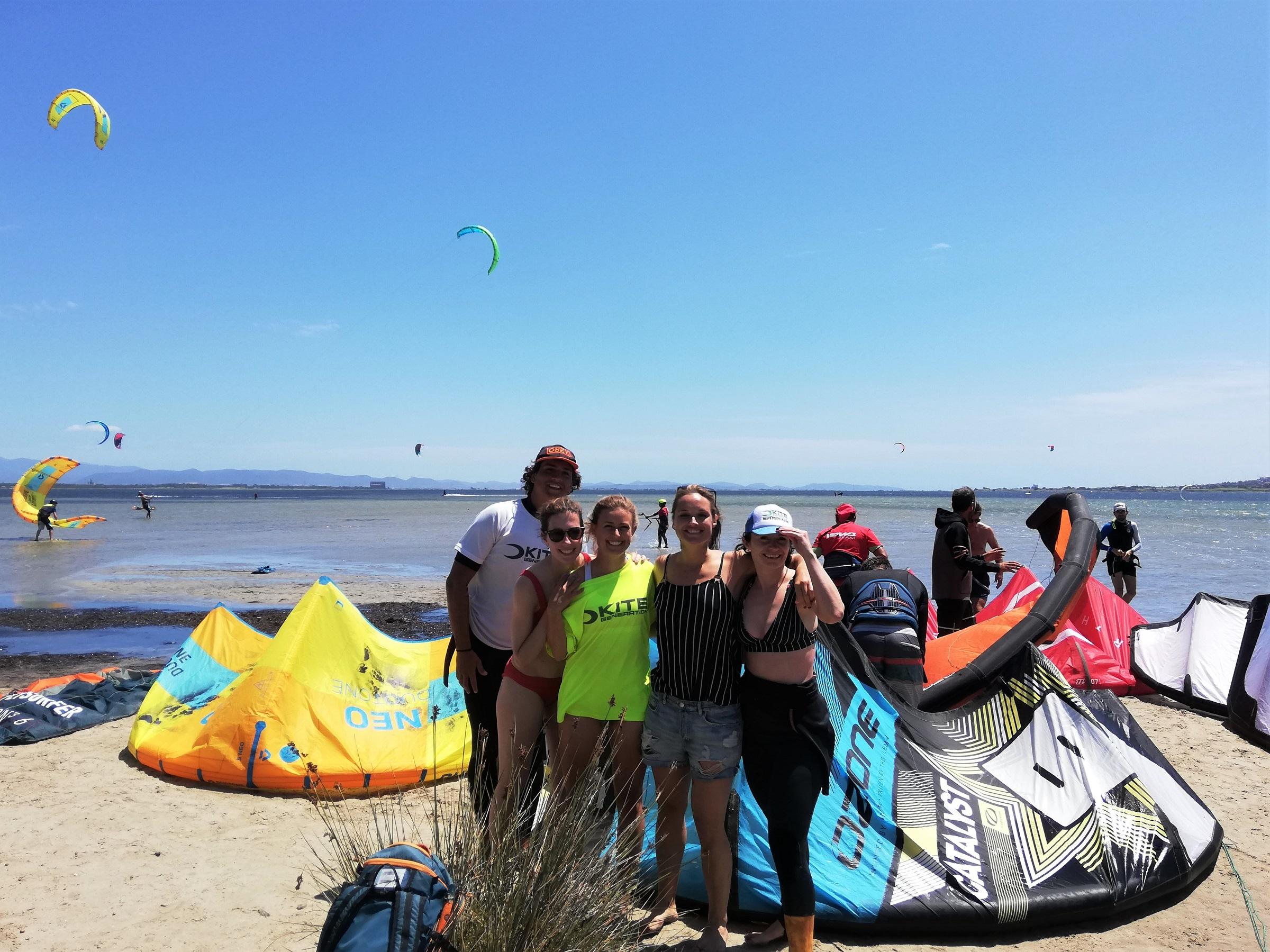 Kite Course in Punta Trettu Sardnia