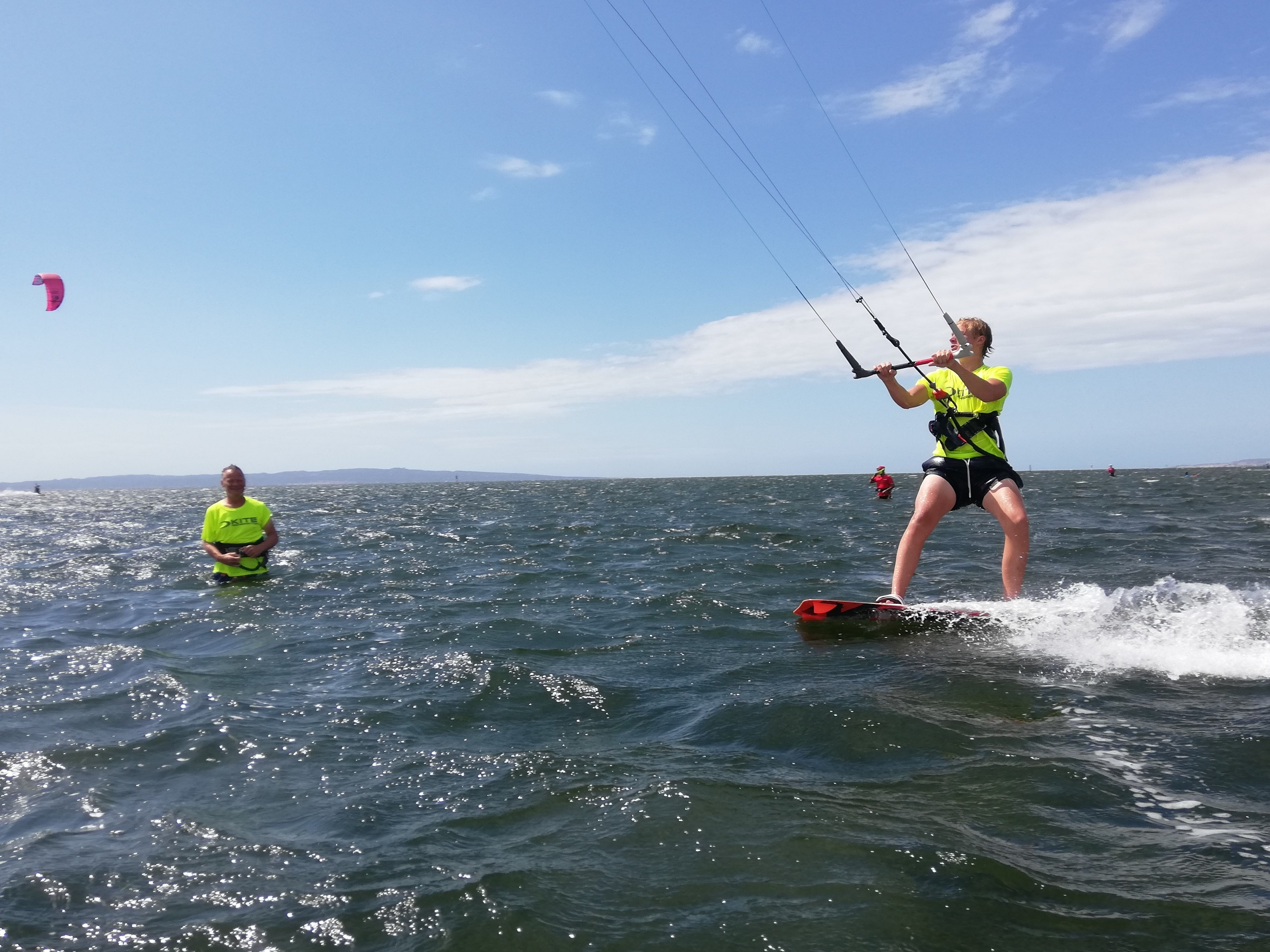 Kite Course for Beginners in Punta Trettu Sardinia