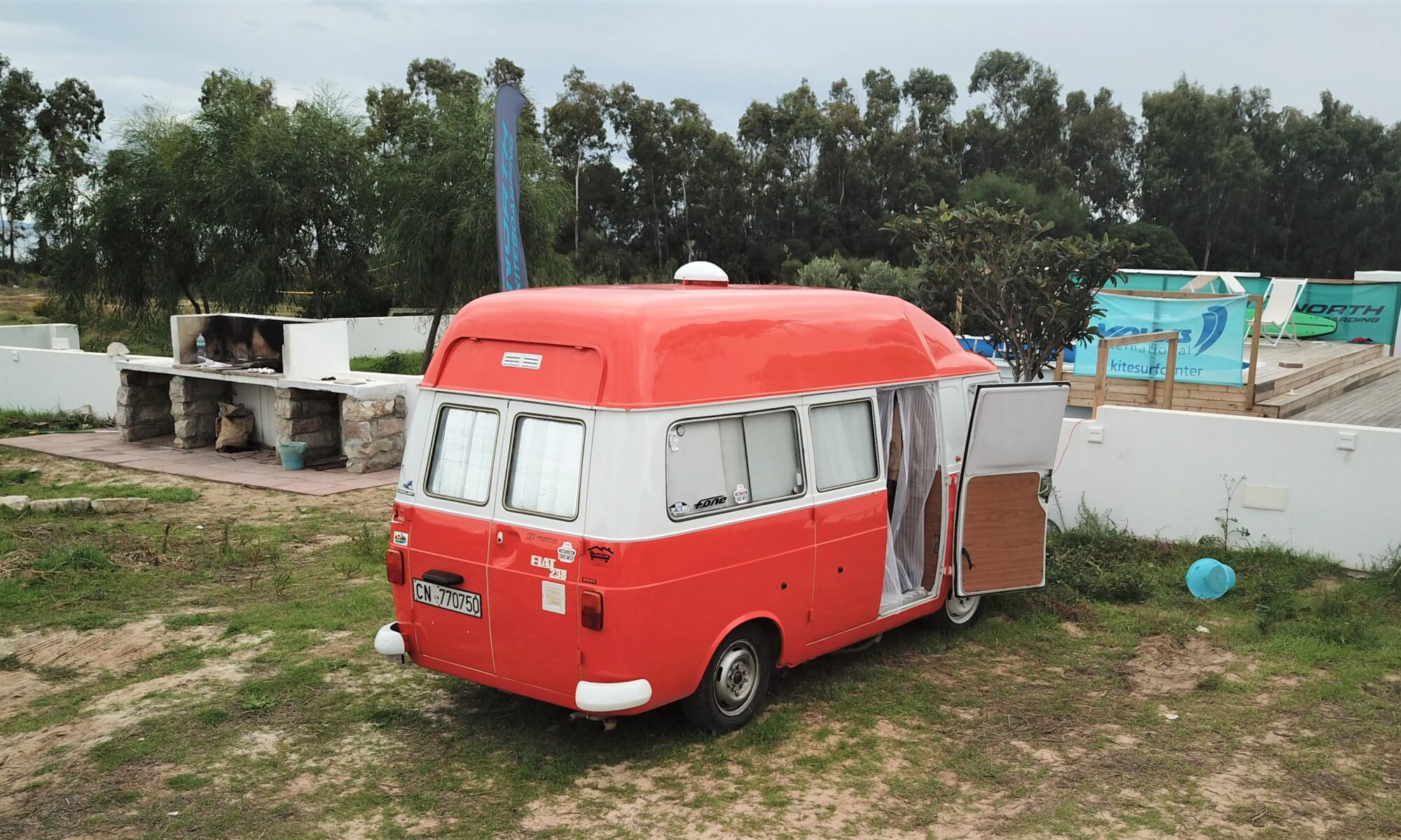 Camper Van Punta Trettu Sardinia
