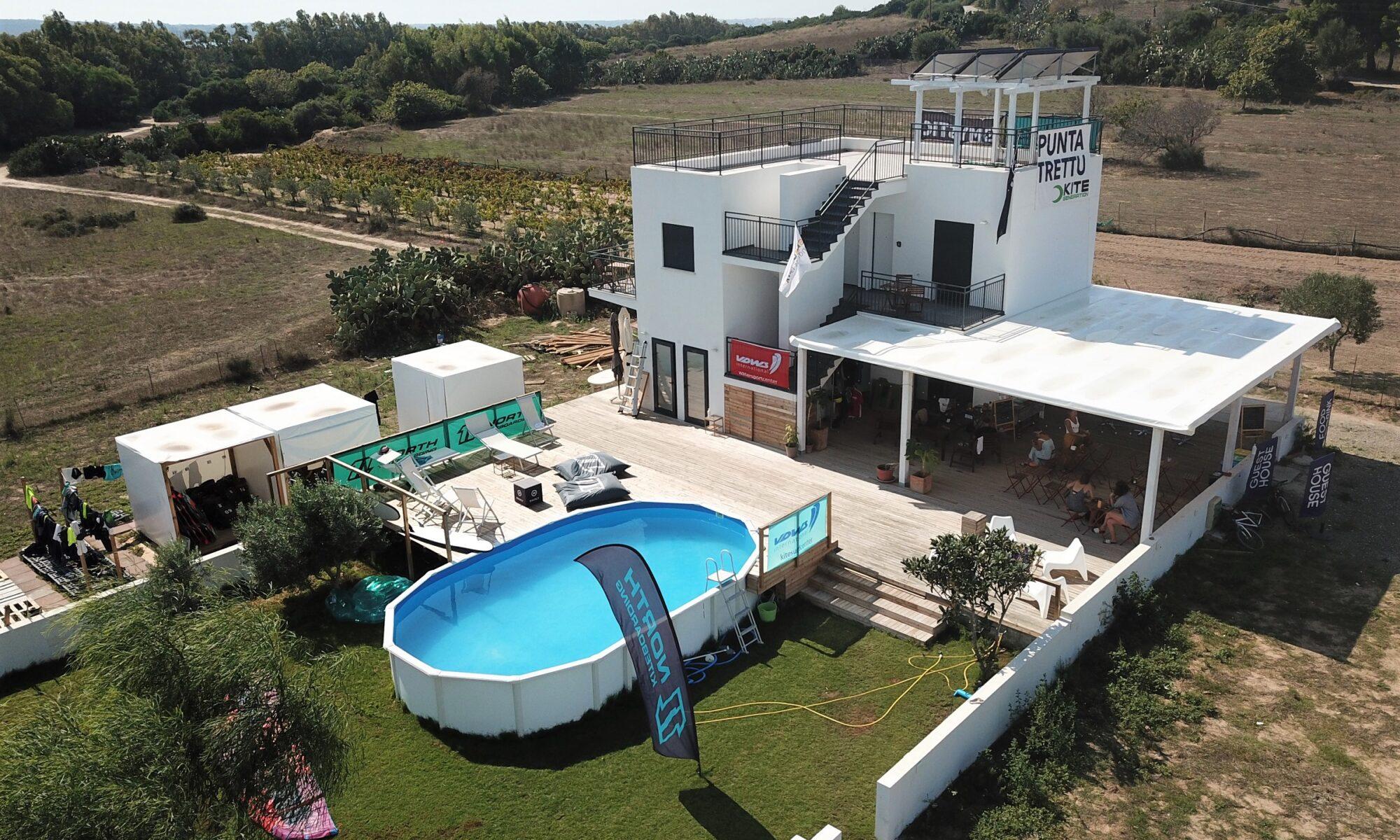 Punta Trettu Kite Center Sardinia and Kitesurf House